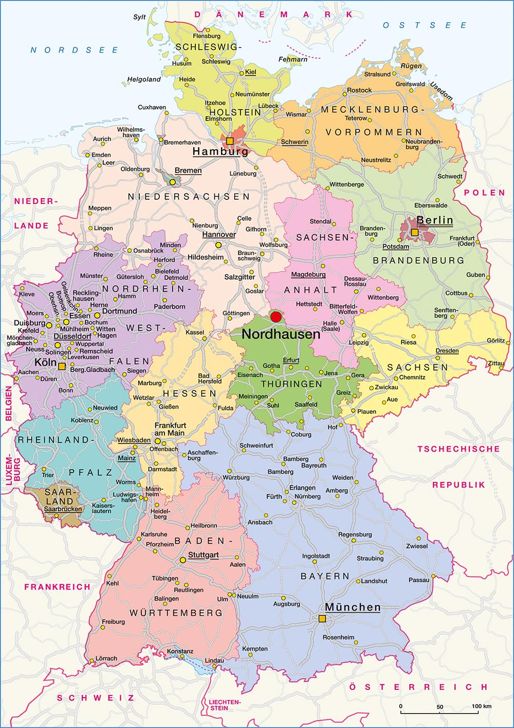 Nordhausen Karte.So Finden Sie Uns Brauer Reisen